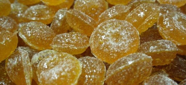 bonbons au miel en fin de fabrication